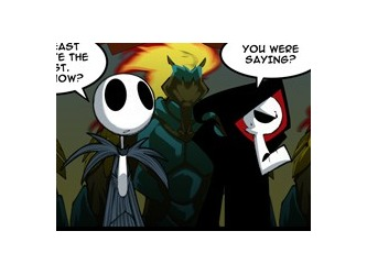 Fan Comic - The Grim adventures of Billy and Mandy